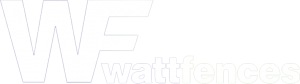 watt fences retina logo