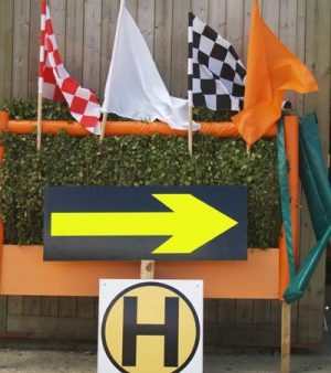 Flags H Markers
