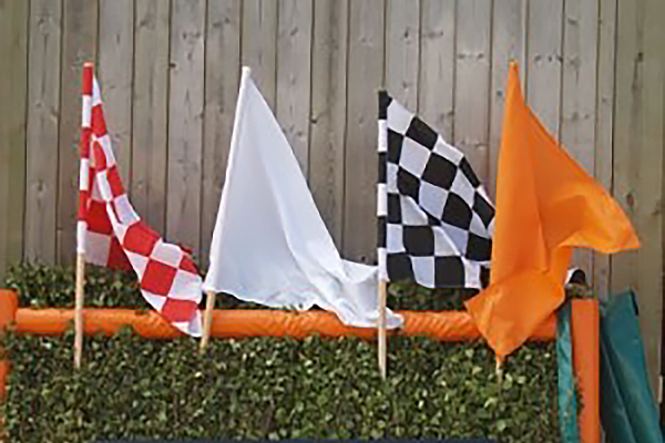 Watt Fences Flags H Markers