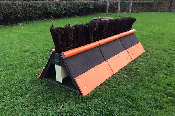 watt fences metal double sided plastic birch