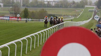 watt fences racecourse running rail