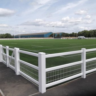 Duralock Crowd Barrier with Mesh Infill